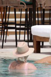 Molly-Mae Hague at a Pool in a Bikini - Ibiza 07/26/2021