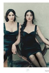 Monica Bellucci and Deva Cassel - Vogue Italy July 2021 Issue