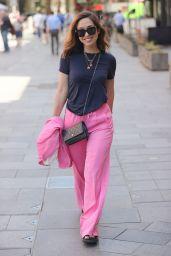 Myleene Klass in Pink - London 07/17/2021