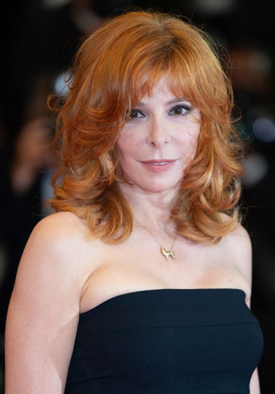 "Mylene Farmer - ""Flag Day"" Screening at the Film Festival in Cannes 07/10/2021"