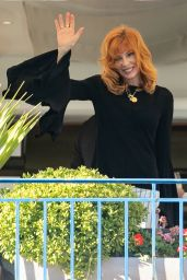 Mylene Farmer - Jury Dinner Ahead of the 74th Annual Cannes Film Festival at the Hotel Martinez in Cannes