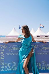 Nadine Mirada - Photoshoot at the Cannes Film Festival 07/14/2021