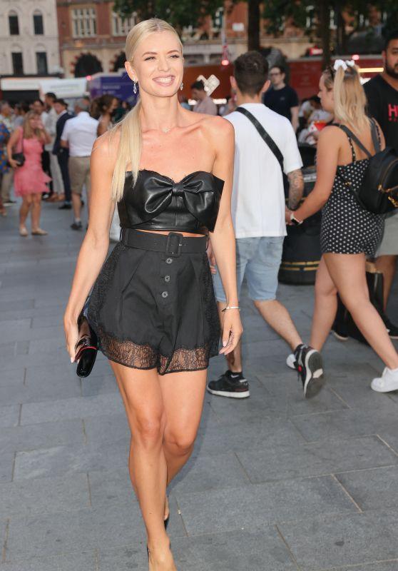 "Nadiya Bychkova - Leaving ""Off the Rails"" Premiere in London 07/22/2021"