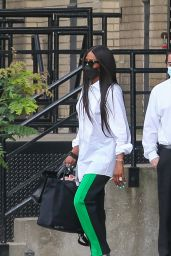 Naomi Campbell - Out With Her Daughter in NYC 07/16/2021