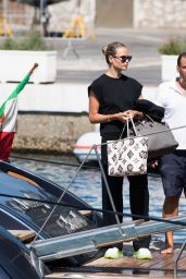 Natasha Poly - Arriving in Capri 07/30/2021
