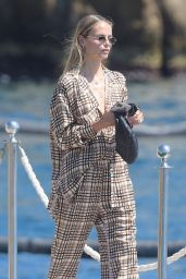 Natasha Poly at the Eden Roc Hotel in Antibes 07/11/2021