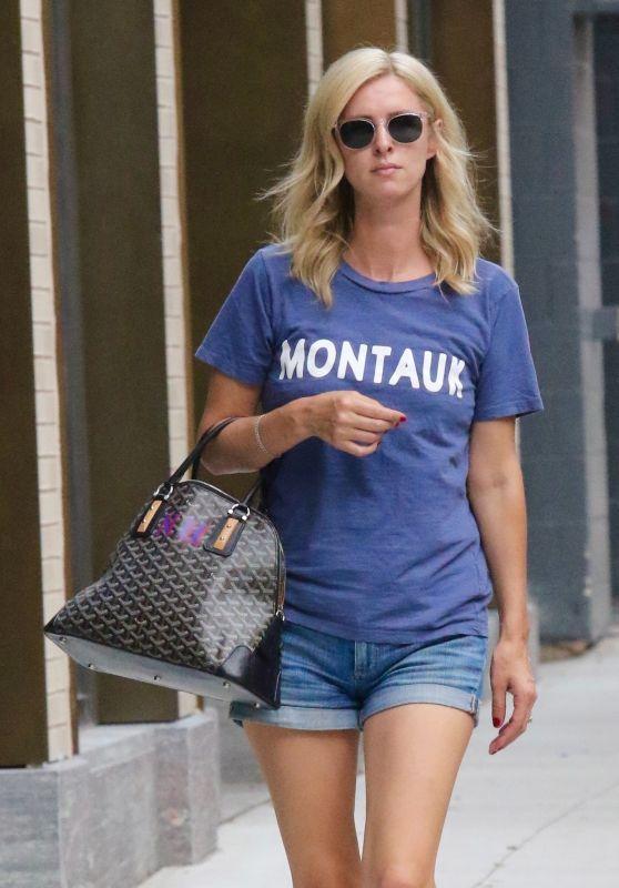 Nicky Hilton in Short Shorts - Manhattan