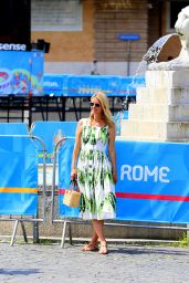 Nicky Hilton - Out in Rome 07/01/2021