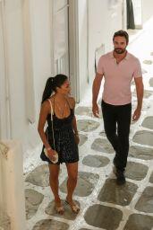 Nicole Scherzinger and Thom Evans - Night Out in Mykonos Island 07/03/2021