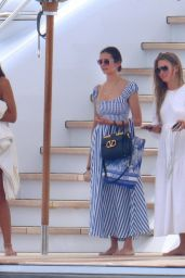 Nina Dobrev and Julianne Hough on a Yacht in Cannes 07/17/2021