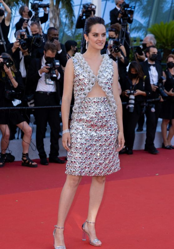 """Noemie Merlant – """"Aline, The Voice Of Love"""" Red Carpet at 74th Cannes Film Festival"""