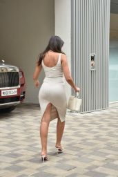 Nora Fatehi - Arriving at an Office Complex in Mumbai 07/09/2021