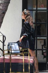 Olivia Culpo - 454 North Hair Salon in West Hollywood 07/01/2021