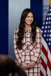 Olivia Rodrigo at the White House to Promote the COVID-19 Vacine in Washington 07/14/2021