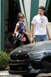 Olivia Rodrigo With Beau Adam Faze in West Hollywood 07/25/2021