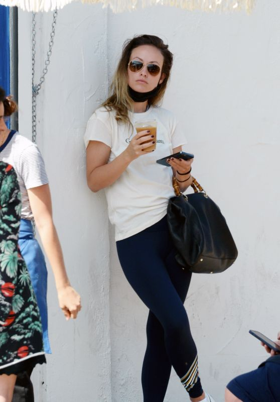 Olivia Wilde in Casual Outfit - Los Angeles 07/22/2021