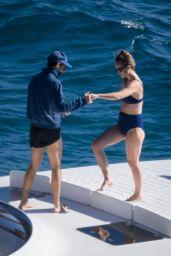 Olivia Wilde - On a yacht in Argentario 07/05/2021
