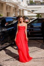 Patricia Gloria Contreras at the Martinez Hotel in Cannes 07/13/2021