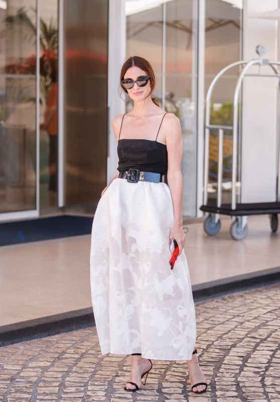 Paz Vega at the Martinez Hotel in Cannes 07/11/2021