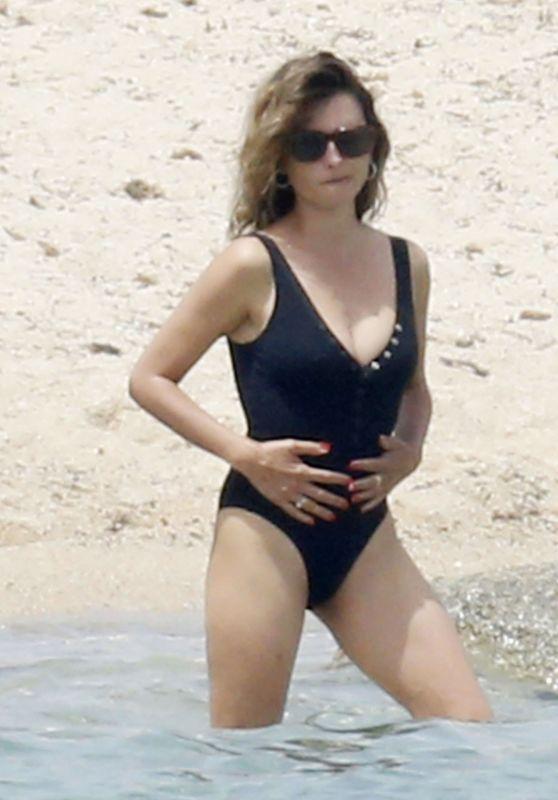 Penelope Cruz in a Swimsuit - Sardinia 06/23/2021