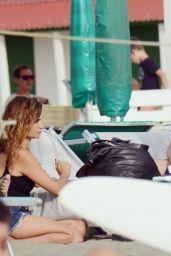 Penelope Cruz With Javier Bardem in Fregene 07/24/2021