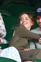 Phoebe Dynevor at Wimbledon in London 07/03/2021