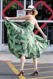Phoebe Price at the CVS Parking Lot in LA 07/27/2021