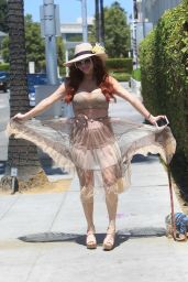 Phoebe Price - Out in Beverly Hills 07/01/2021