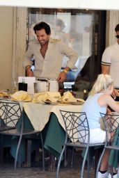 Pixie Lott and Oliver Cheshire - Rome 07/24/2021