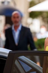 Poppy Delevingne at the Martinez Hotel in Cannes 07/14/2021