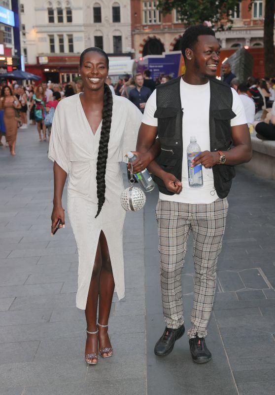 Priscilla Anyabu - Out in London 07/22/2021