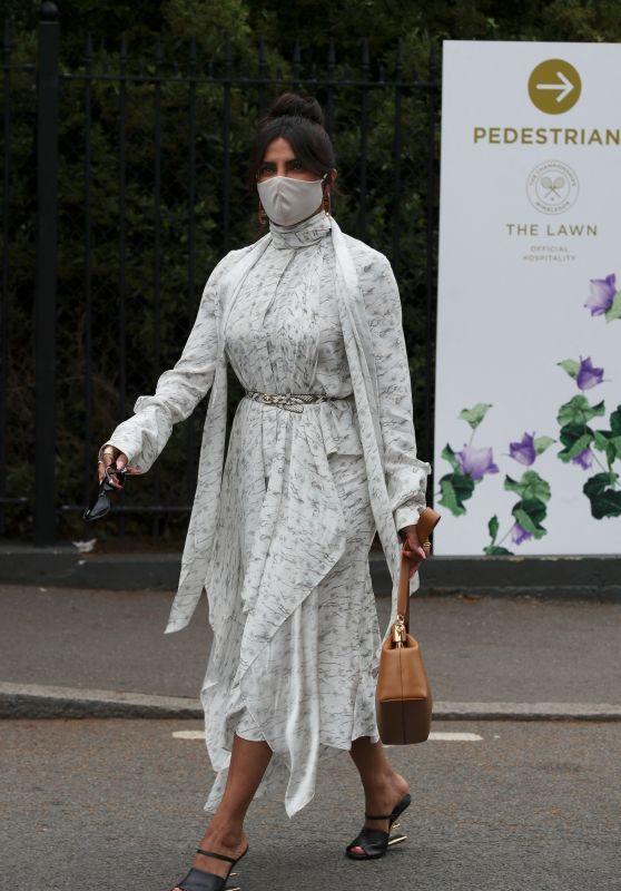 Priyanka Chopra at Wimbledon for the Women