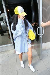 Rihanna - Leaving Electric Lady Studios in New York 07/29/2021