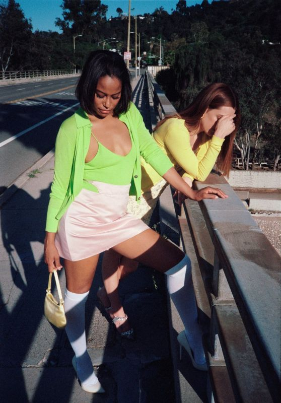 Riley Keough and Taylour Paige - Dazed Magazine July 2021