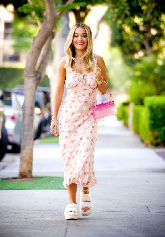 Rita Ora Summer Street Style - LA 07/01/2021
