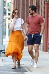 Rose Leslie and Kit Harington - Out in NYC 07/06/2021