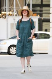 Rose Leslie - Out in New York 07/08/2021