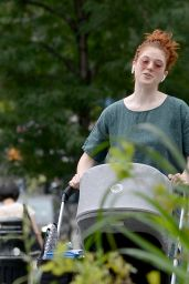 Rose Leslie - Out in New York 07/25/2021