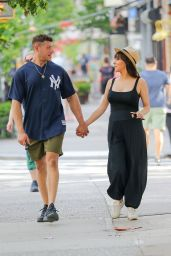 Roxanne Pallett With Husband Jason Carrion - Out in New York 07/20/2021