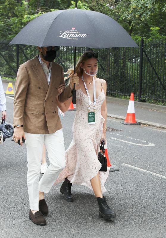 Roxy Horner - Wimbledon in London 07/03/2021