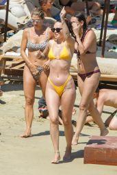 Rumer Willis in a Bikini - Beach in Mykonos 07/13/2021