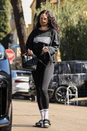 Rumer Willis Wears All-black Workout Gear - West Hollywood 07/29/2021