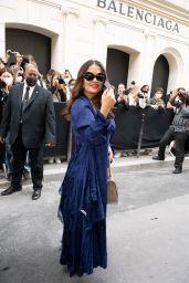 Salma Hayek - Balenciaga Haute Couture Fall/Winter Show in Paris 07/07/2021