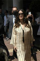 Salma Hayek Looks Stylish - Cannes 07/11/2021