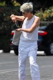 Selma Blair at Fred Segal in West Hollywood 07/12/2021