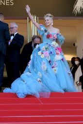 """Sharon Stone - """"A Felesegam Tortenete/The Story Of My Wife"""" Red Carpet at Cannes Film Festival"""