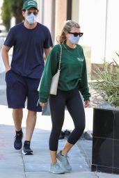 Sofia Richie in Leggigns - Beverly Hills 07/29/2021