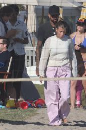 Sofia Richie on the Beach in Malibu 07/04/2021
