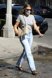 Sofia Richie Street Style - Shopping in West Hollywood 07/30/2021