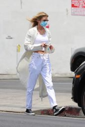 Stella Maxwell - Stops by a Cannabis Store in LA 07/24/2021